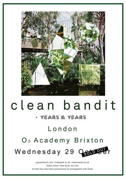 clean bandit on concert