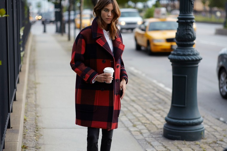 alexa chung in hilfiger collection