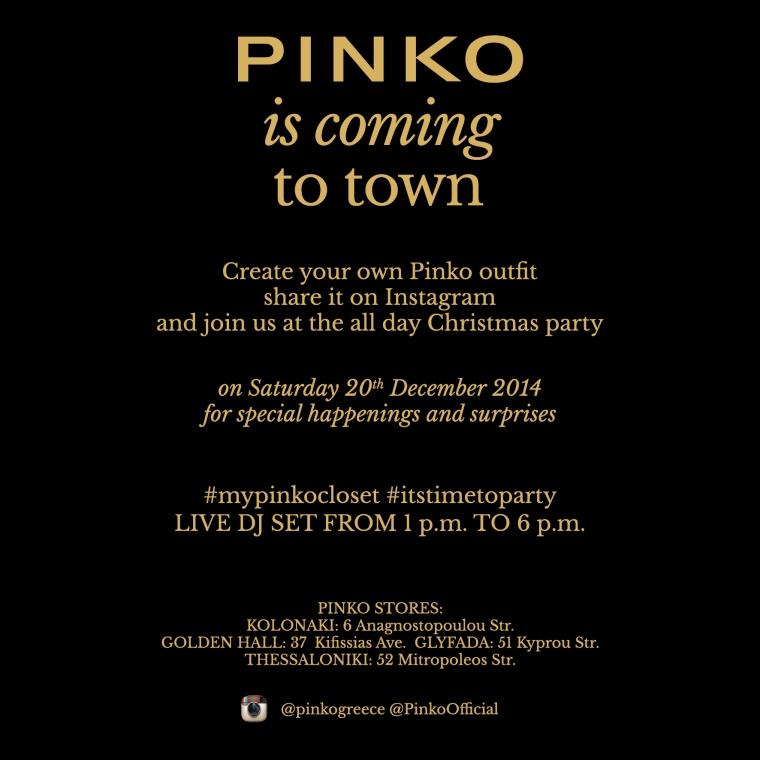 PINKO STORES XMAS PARTIES_E-INVITATION