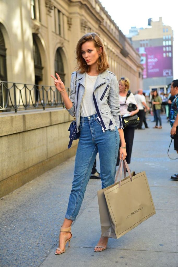 high-waisted-jeans-look