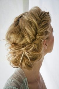 Boho-Twisted-Updo-Hairstyle
